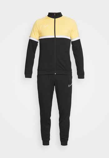ACADEMY SUIT - Chándal - black/saturn gold/white