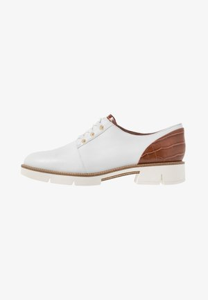 LACE-UP - Derbies - white