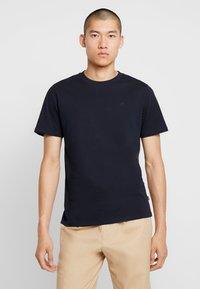 Scotch & Soda - Basic T-shirt - navy - 0