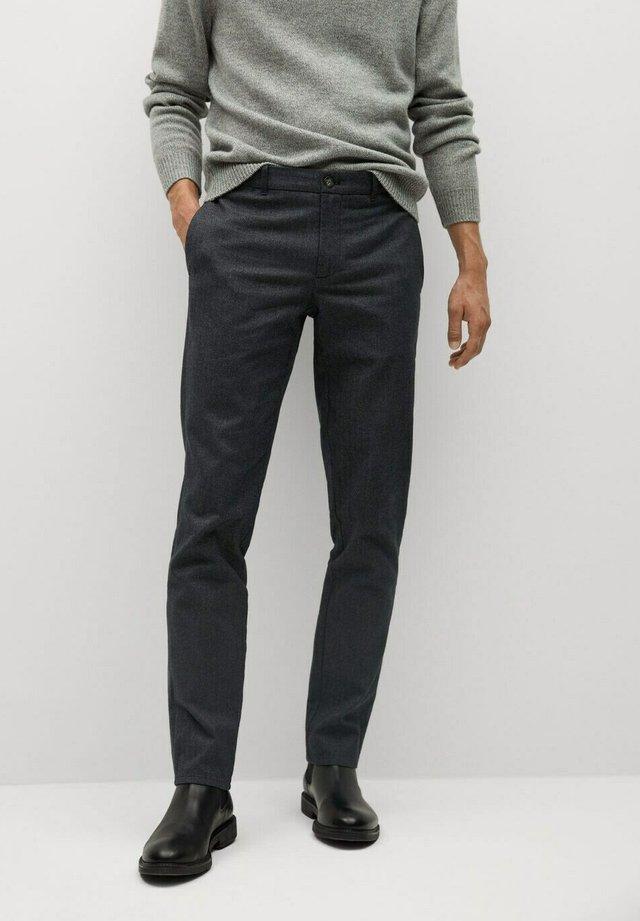 BREST - Chinos - dark heather grey