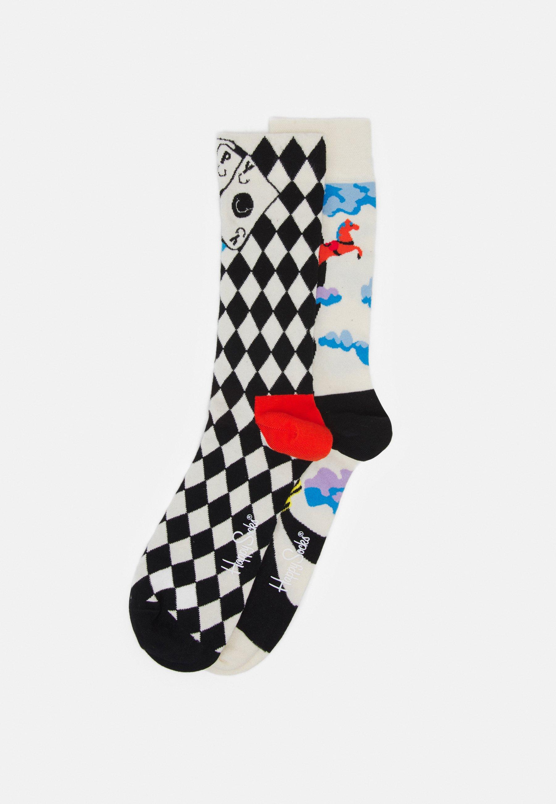 Men 2 PACK CIRCUS SOCK AND LUCKY WINNER SOCK UNISEX - Socks