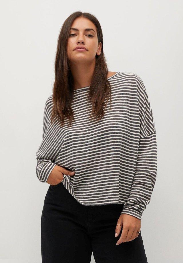 GRESSY - Long sleeved top - grau