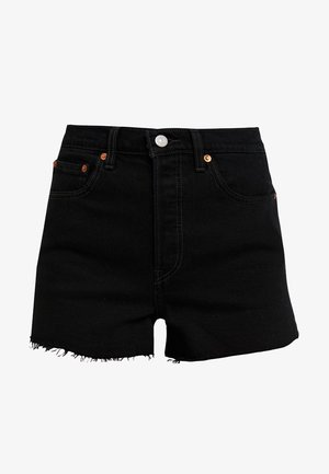 RIBCAGE SHORT - Jeansshorts - late shift