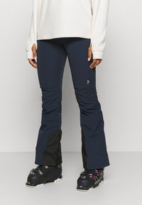 Peak Performance - STRETCH PANTS - Pantalón de nieve - blue shadow - 0
