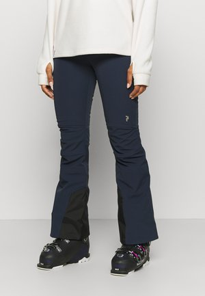 STRETCH PANTS - Snow pants - blue shadow