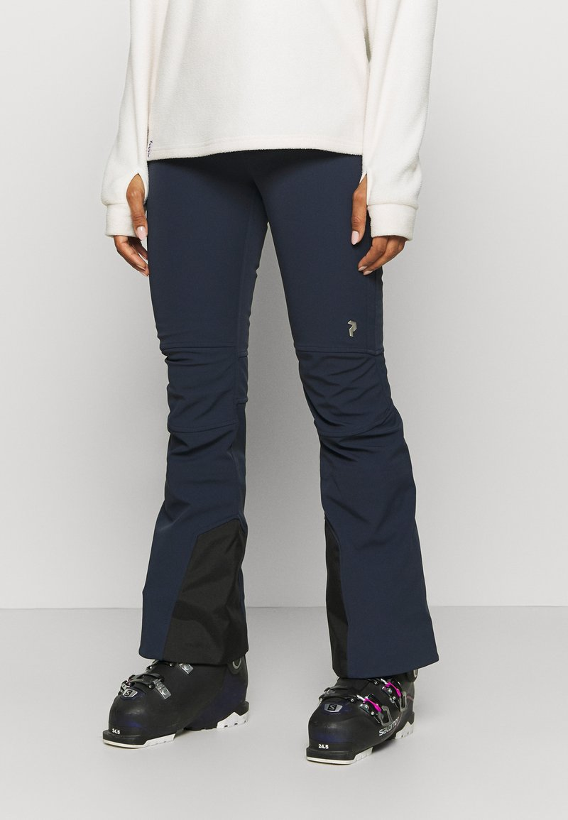Peak Performance - STRETCH PANTS - Pantalón de nieve - blue shadow