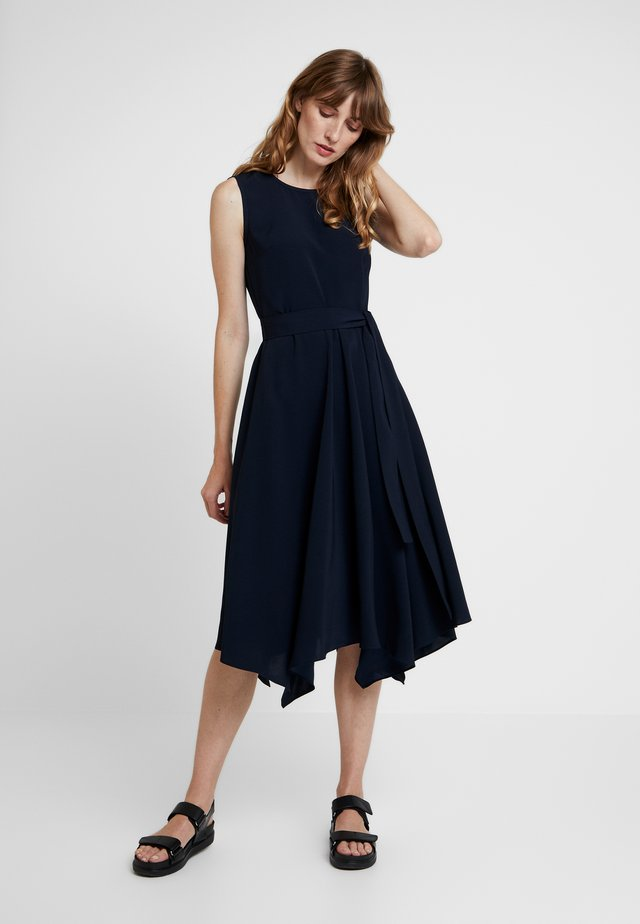 EASY DRAPE - Cocktail dress / Party dress - space navy