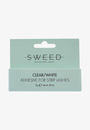 ADHESIVE FOR STRIP LASHESCLEAR/WHITE - False eyelashes - -