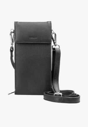 LUCY - Across body bag - black silver