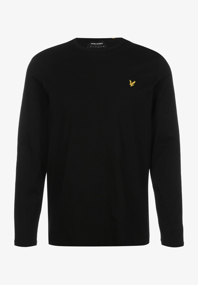 Lyle & Scott - Long sleeved top - jet black