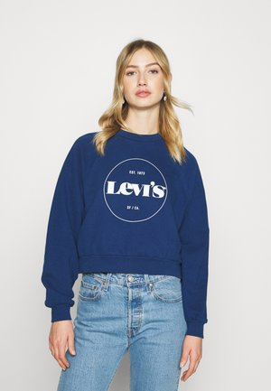 VINTAGE RAGLAN CREW - Sweatshirt - estate blue