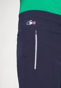 Lacoste Sport - OLYMP PANT - Träningsbyxor - navy blue/white - 5
