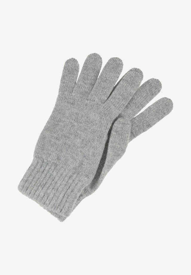 CASHMERE GLOVES - Gloves - silver