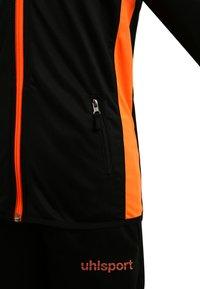 Uhlsport - ESSENTIAL CLASSIC SET - Trainingspak - schwarz/fluo orange - 3