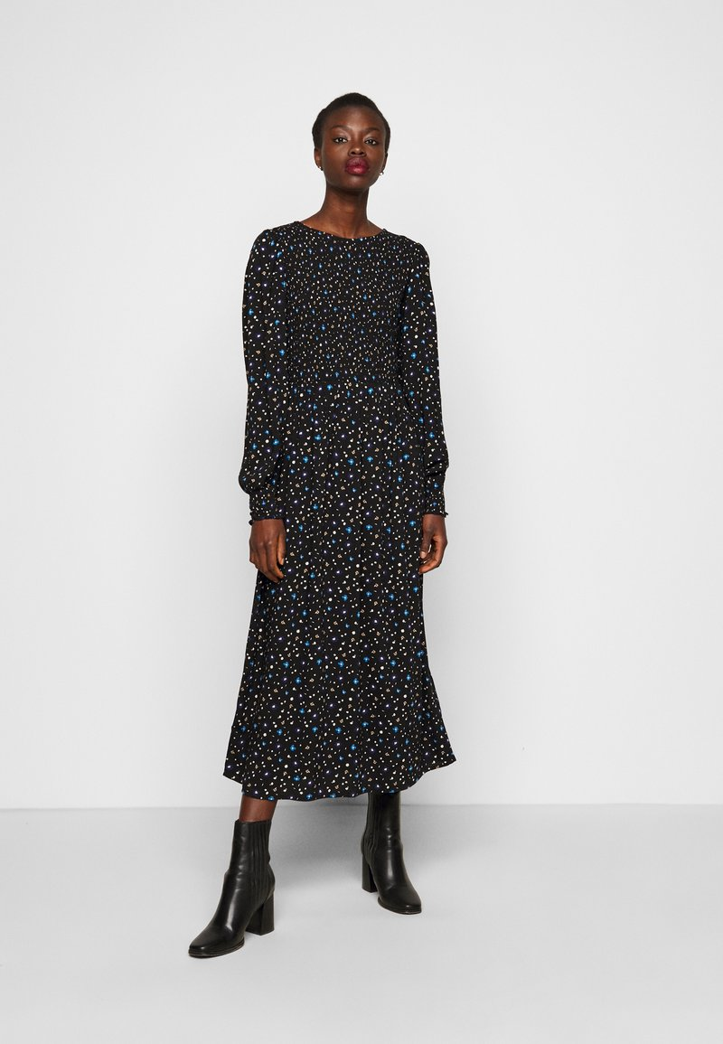 Dorothy Perkins Tall - DITSY SMOCKED - Day dress - multi