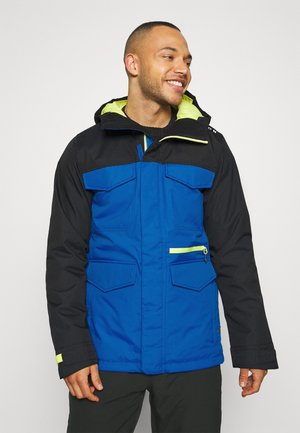 COVERT BARREN - Snowboardjacke - true black/lapisblue