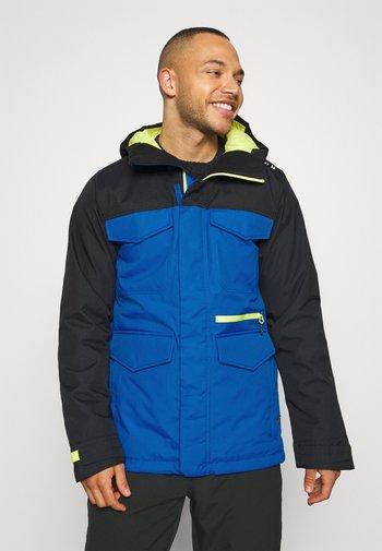 COVERT BARREN - Snowboardová bunda - true black/lapisblue