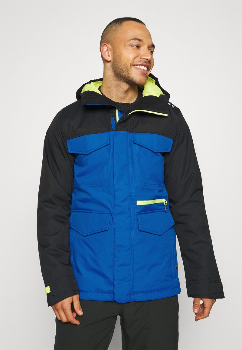 Burton - COVERT BARREN - Snowboard jacket - true black/lapisblue