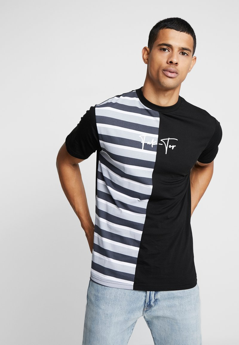 FAKTOR - HARDY TEE - T-shirt con stampa - black