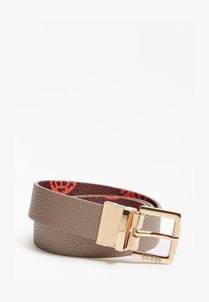 PEONY - Belt - orange