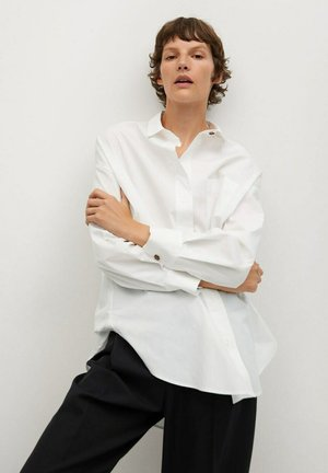 JAYDI - Button-down blouse - blanco roto