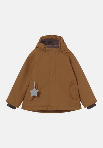 WALLY UNISEX - Winter coat - rubber brown