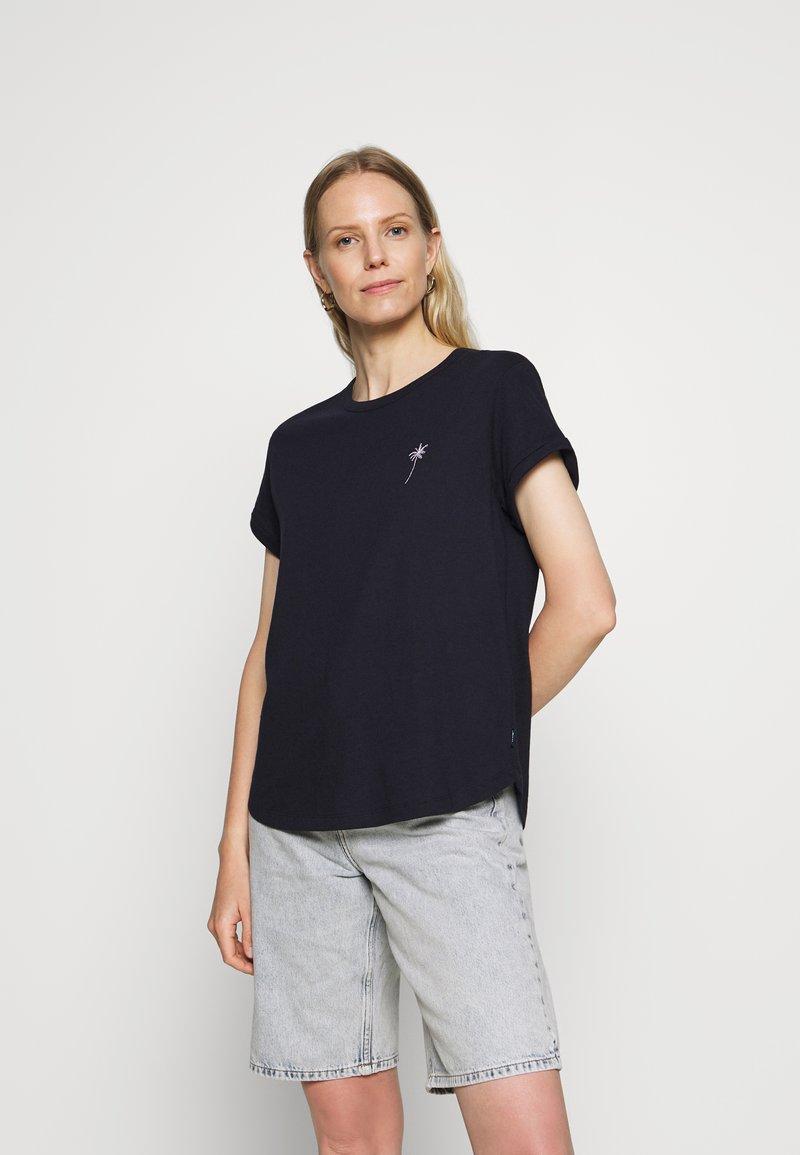 Marc O'Polo DENIM - Print T-shirt - scandinavian blue