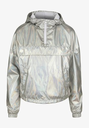 Windbreaker - silver/grey
