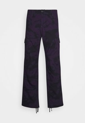 REGULAR COLUMBIA - Pantalones cargo - blur / purple rinsed