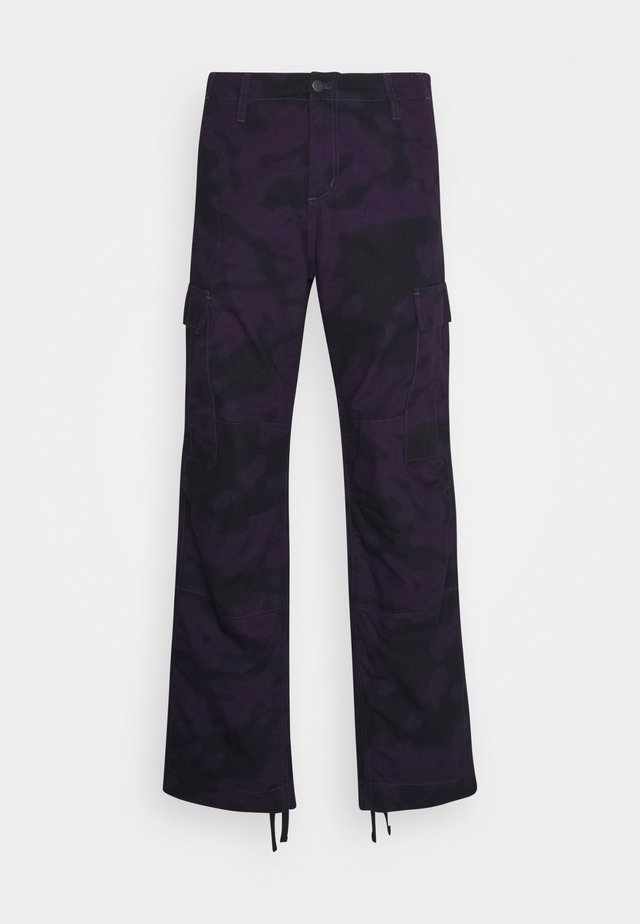REGULAR COLUMBIA - Pantaloni cargo - blur / purple rinsed