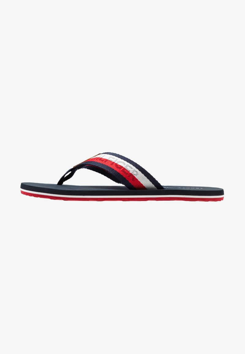 Tommy Hilfiger - CORPORATE BEACH - T-bar sandals - blue