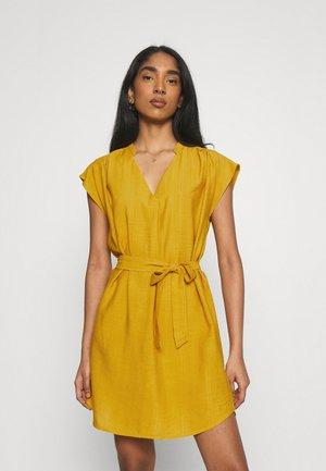 ONLJOSEY V NECK DRESS - Day dress - nugget gold