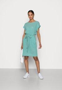 Esprit - DRESS  - Jersey dress - teal green - 1