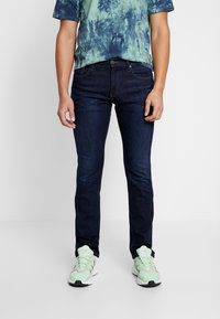 Tommy Jeans - RYAN - Jeans straight leg - dark blue denim - 0