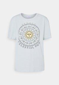 Even&Odd - Print T-shirt - light blue - 4