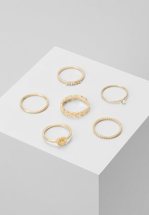 DAISY 6 PACK - Ringar - gold-coloured