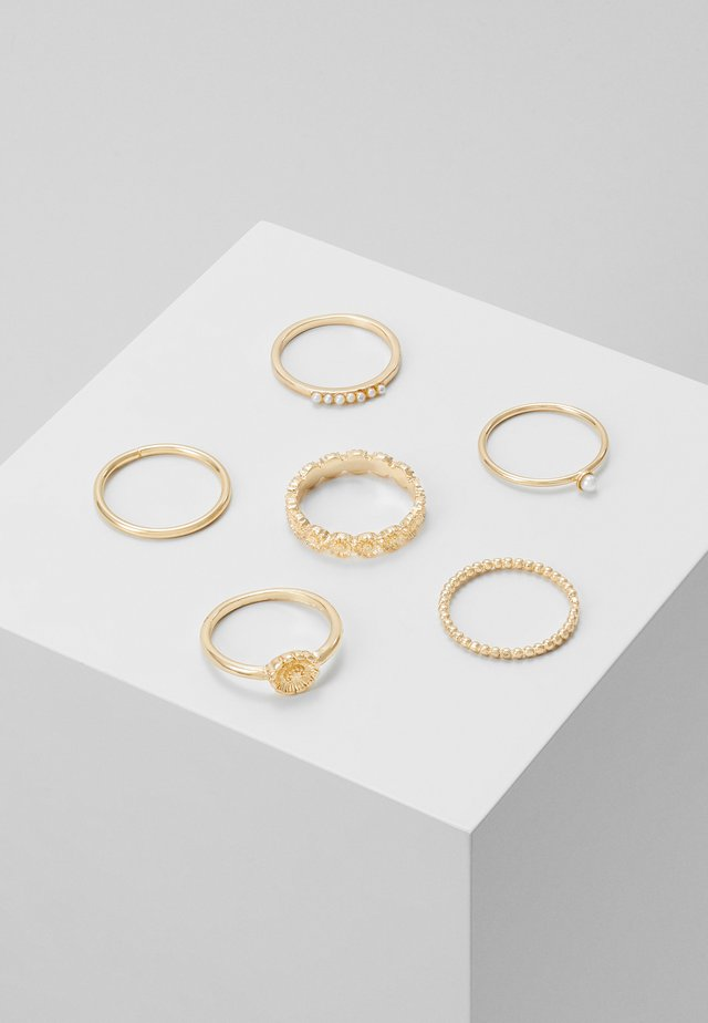 DAISY 6 PACK - Ring - gold-coloured