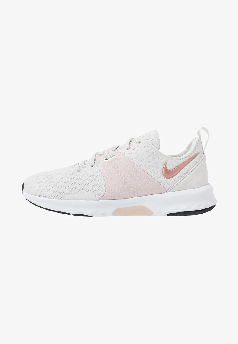 Nike Performance - CITY TRAINER 3 - Sports shoes - platinum tint/metallic red bronze