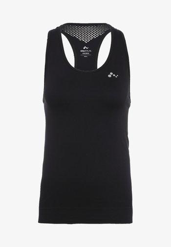 ONPCHRISTINA SEAMLESS  - Sports shirt - black