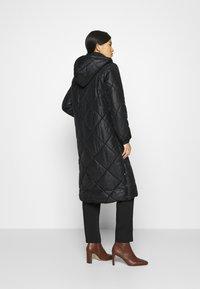 Liu Jo Jeans - IMBOTTITO OVATT LUNGO - Winter coat - nero - 2