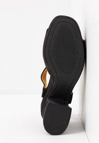 mtng - LEIRA - High heeled sandals - black - 6