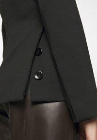 Proenza Schouler White Label - SUITING TIE WAIST - Blazer - black - 5