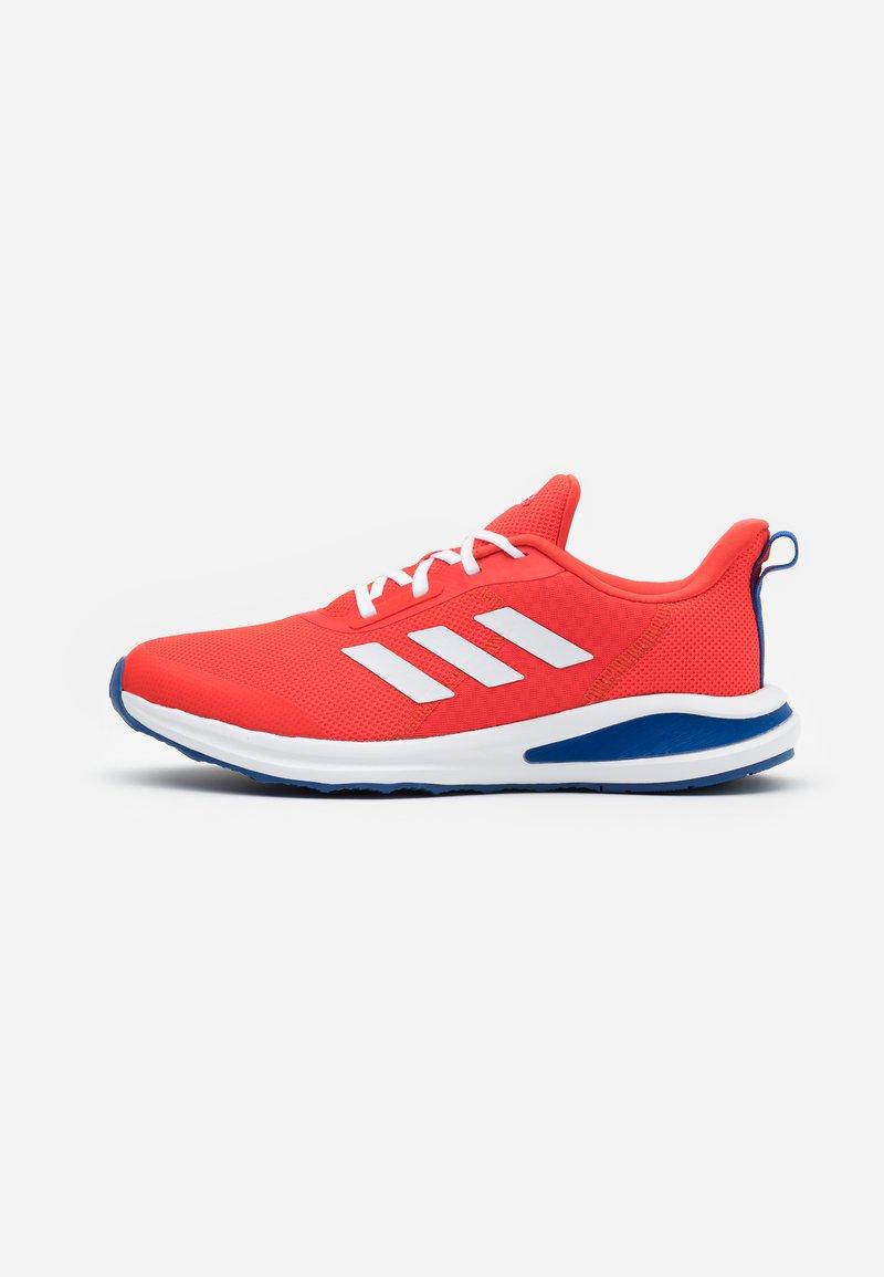 adidas Performance - FORTARUN KIDS NEXT CLOUDFOAM TRAINING SHOES UNISEX - Neutral running shoes - vivid red/footwear white/collegiate royal