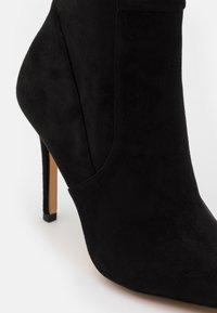 ALDO - IDEEZA - Overknee laarzen - open black - 4