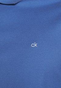 Calvin Klein - REFINED LOGO SLIM - Polo - blue - 5