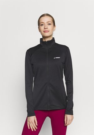 TERREX MULTI FULLZIP - Fleecejakke - black