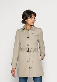 Tommy Hilfiger - HERITAGE SINGLE BREASTED - Trench - medium taupe - 0