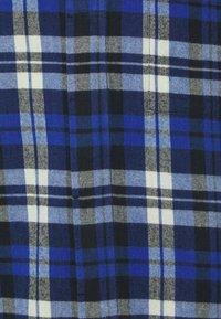 Folk - PATCH - Košile - blue brushed check - 2