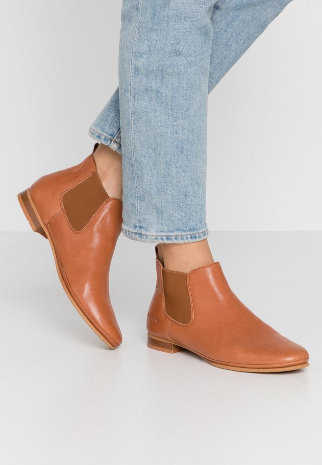 NEW TOULOUSE - Ankle Boot - cognac