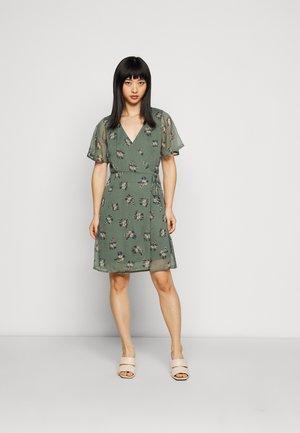 VMKAY WRAP SHORT DRESS - Day dress - mint